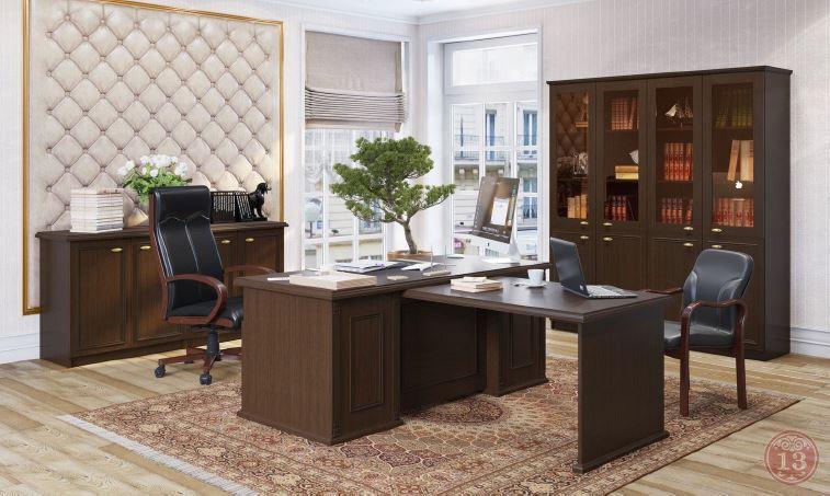 Кабинет руководителя RAUT - настоящая классика и цельный образ в лучших традициях мебельного искусства
