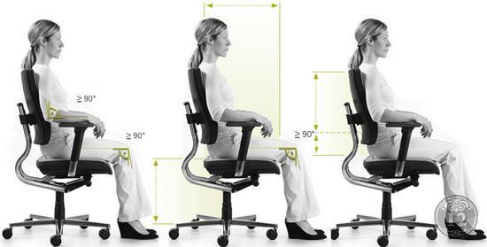 Регулировка высоты сиденья