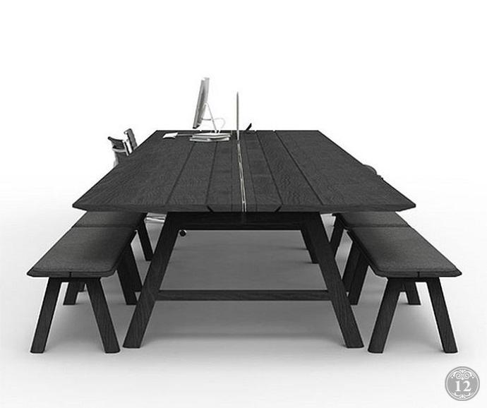 Офисные столы для не офисной обстановки покупай в Новосибирске со склада