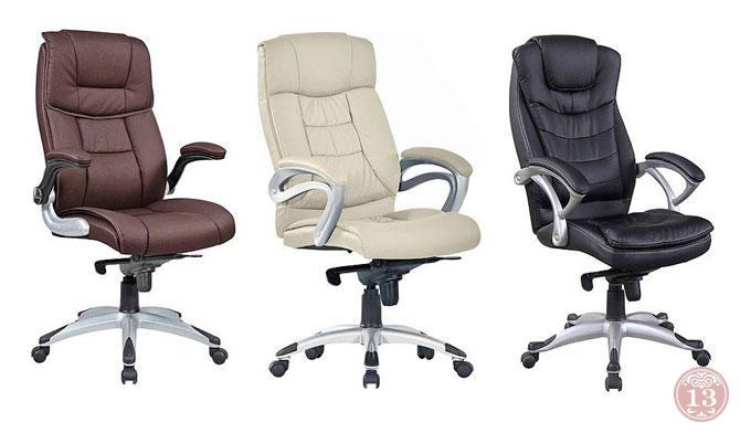 Усиленные кресла для руководителя - рассчитаны на большой вес
