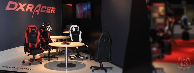 Геймерские компьютерные кресла DxRacer и столы Generic Comfort - расслабься и получи полный улет во время игры!