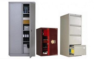 Металлические шкафы для одежды, шкафы для сумок, архивные шкафы, картотеки, бухгалтерские шкафы, почтовые ящики, ключницы