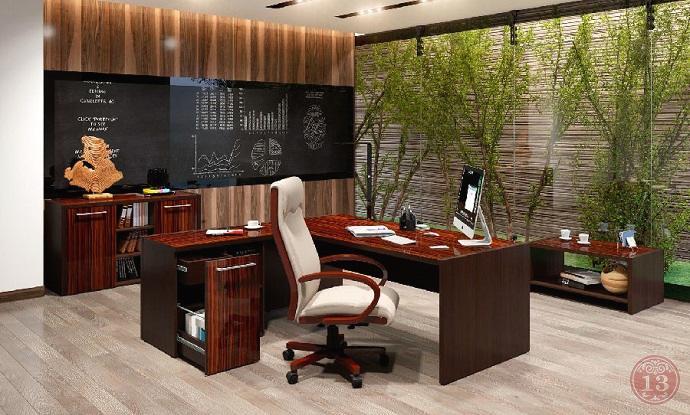 Купить кабинет для руководителя MORRIS со склада в Новосибирске