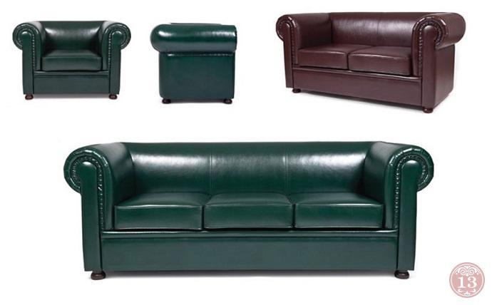 Английская классика диванов Честер Лайт - мягкая офисная мебель, неподвластная времени Chester Light