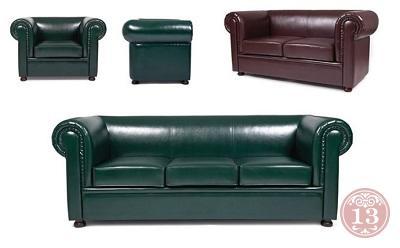 Английская классика диванов Честер Лайт - мягкая офисная мебель, неподвластная времени