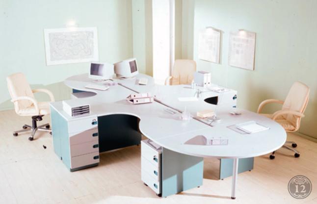 Комфортные цветовые решения для офиса