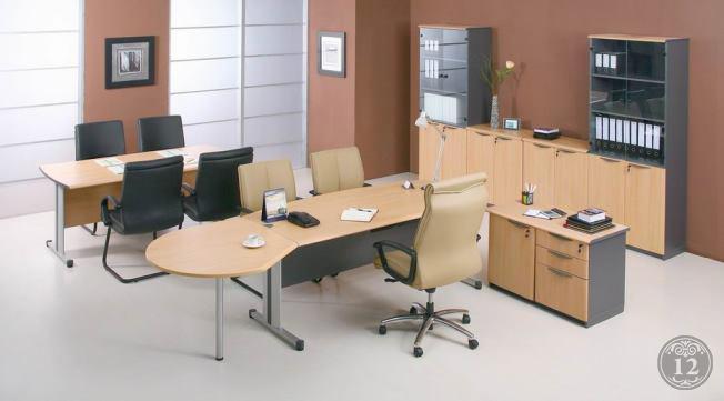Цвет офисной мебели - как определиться?