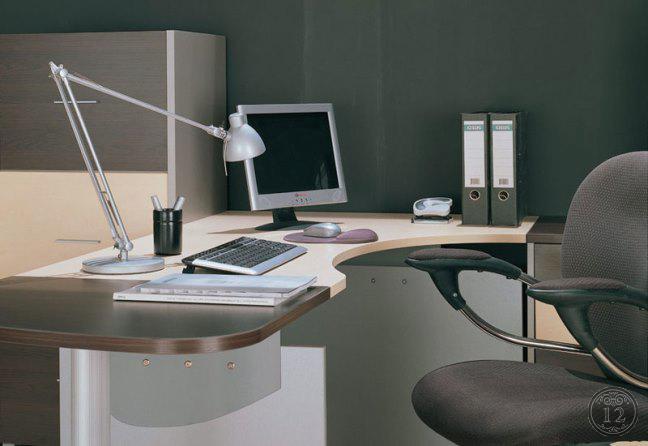 Современная офисная мебель - материалы