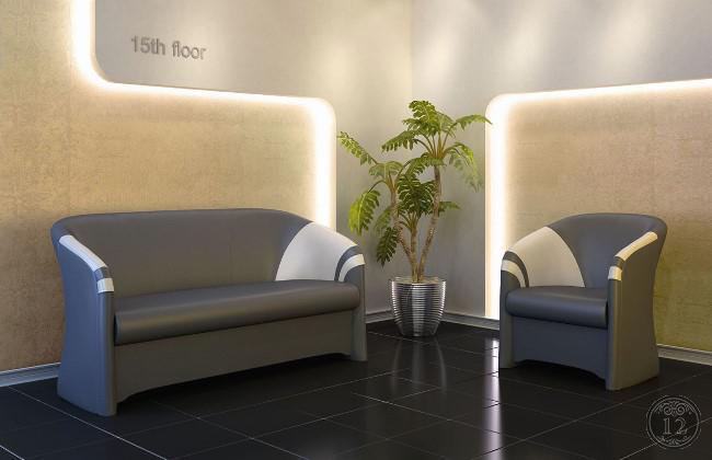 Мягкая мебель в офис