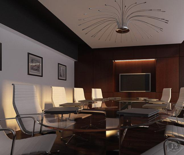 Переговорная комната оформление