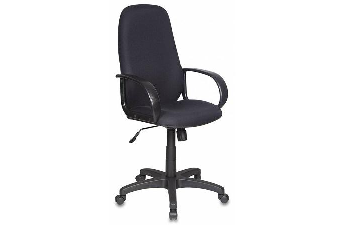 Кресло руководителя Бюрократ CH-808AXSN/#BLACK