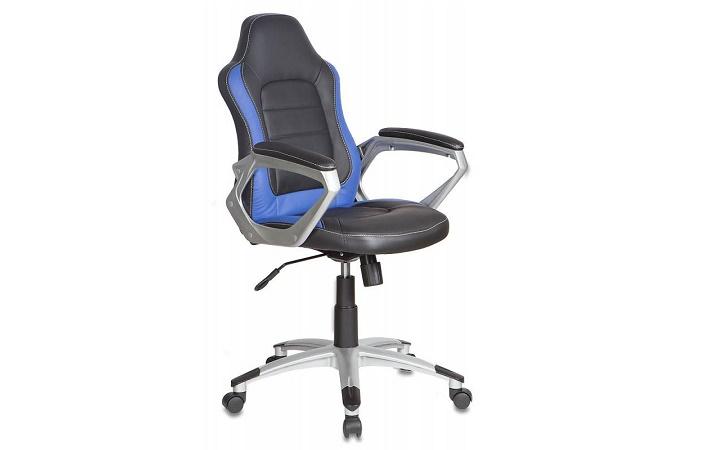 Кресло руководителя Бюрократ CH-825S/Black+Bl