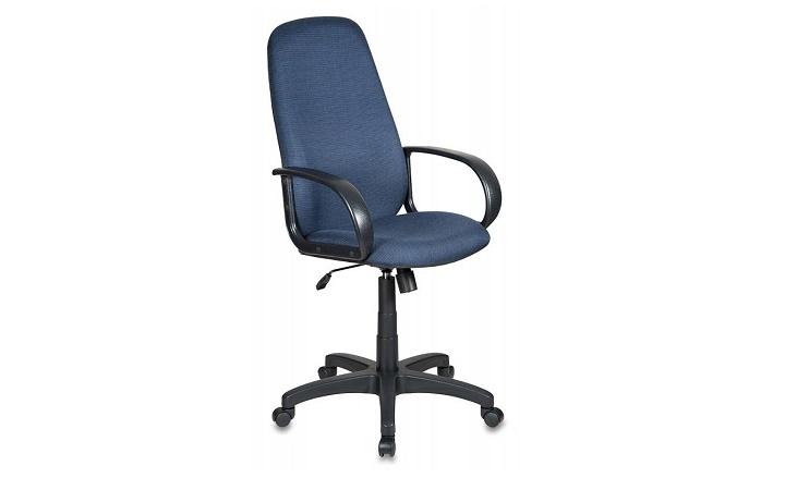 Кресло руководителя Бюрократ CH-808AXSN/Bl&Blue