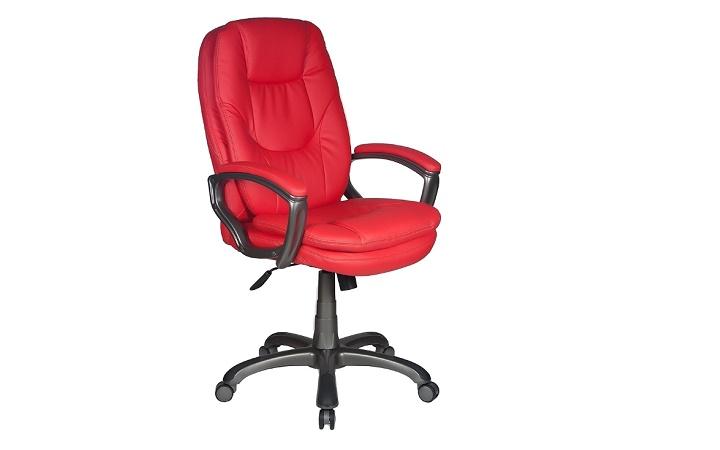 Кресло руководителя Бюрократ CH-868AXSN/Red