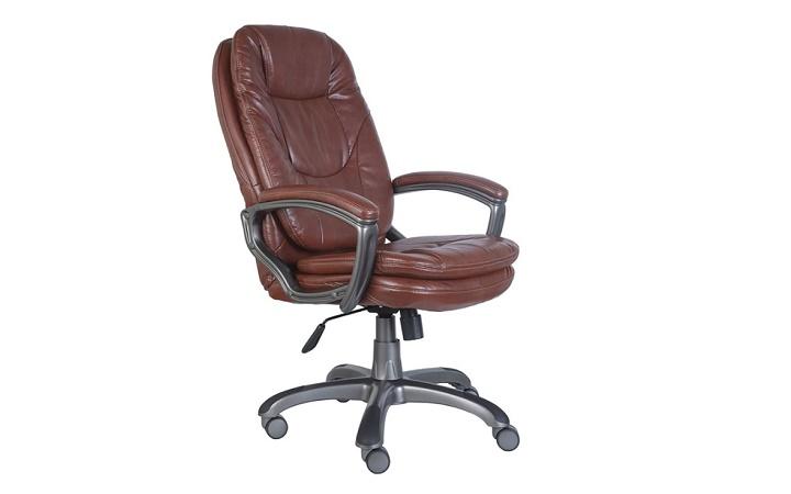 Кресло руководителя Бюрократ CH-868AXSN/BROWN