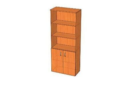 Шкаф полузакрытый Оптима Л218