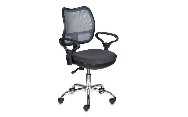 Кресло офисное Бюрократ CH-799SL/DG/TW-12