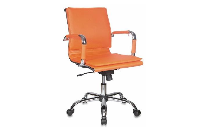 Кресло руководителя Бюрократ CH-993-Low/orange