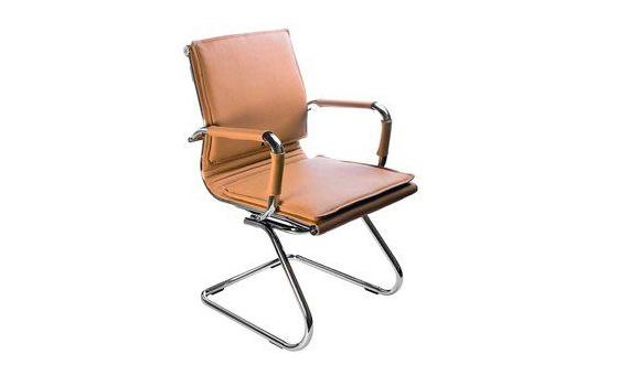 Кресло посетителя Бюрократ CH-993-Low-V/camel