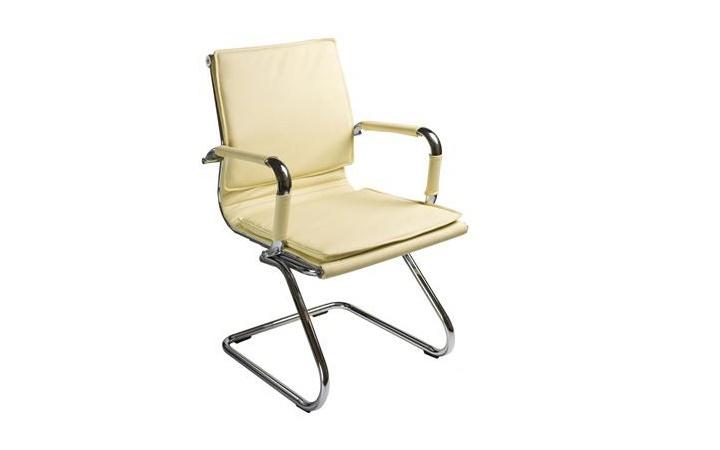Кресло посетителя Бюрократ CH-993-Low-V/ivory
