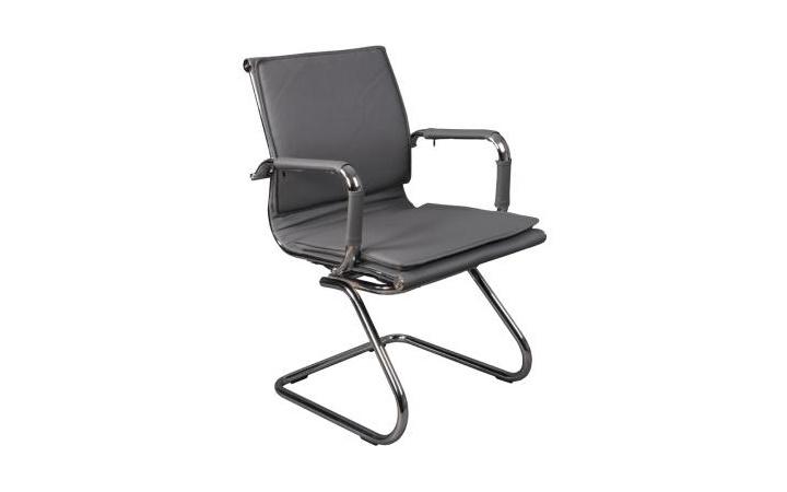 Кресло посетителя Бюрократ CH-993-Low-V/grey