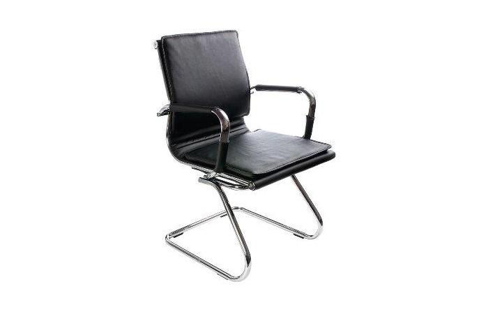 Кресло посетителя Бюрократ CH-993-Low-V/Black