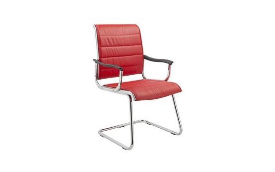 Кресло посетителя Бюрократ CH-994AV/Red