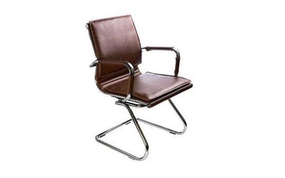 Кресло посетителя Бюрократ CH-993-Low-V/brown