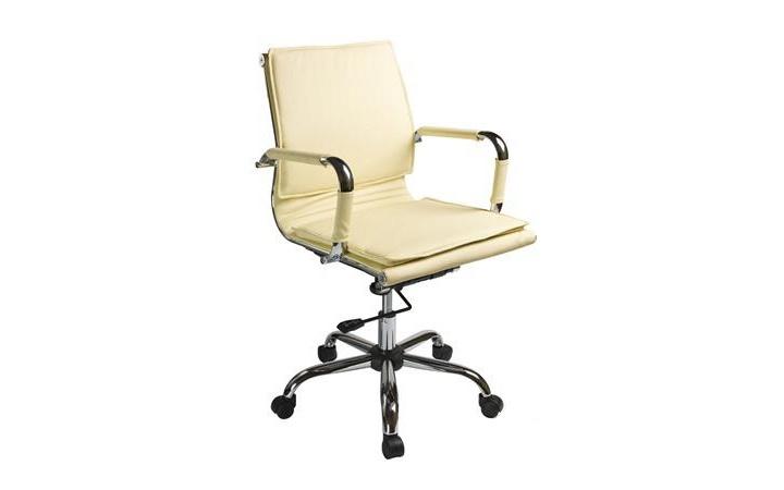 Кресло руководителя Бюрократ CH-993-Low/ivory