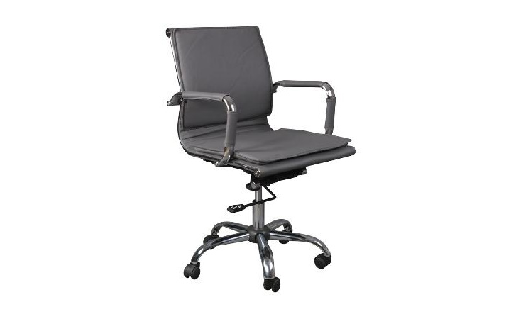Кресло руководителя Бюрократ CH-993-Low/grey