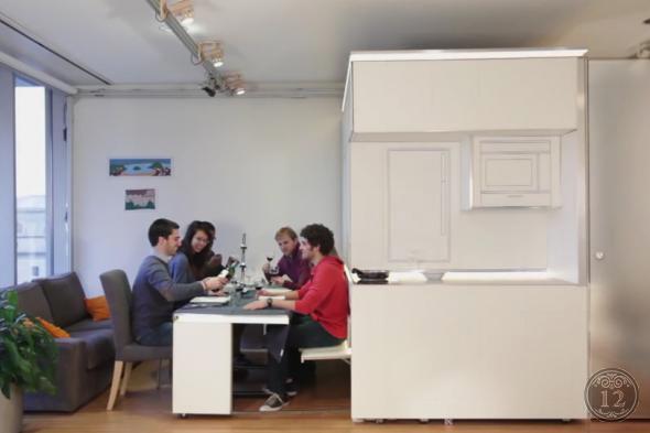 Нужна ли интеллектуальная мебель в наших маленьких квартирах?