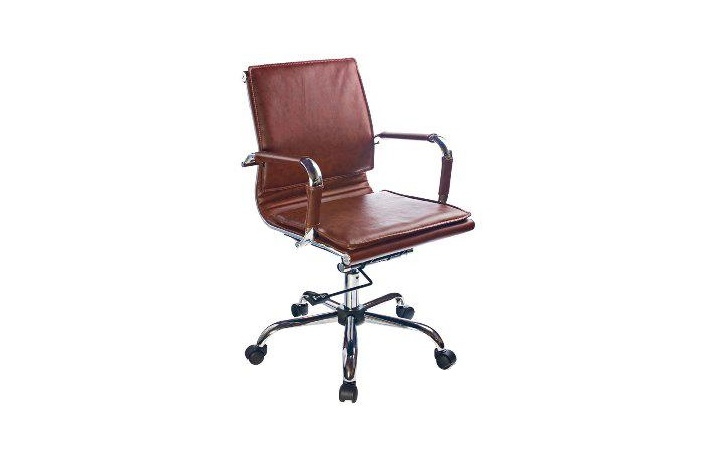 Кресло руководителя Бюрократ CH-993-Low/brown