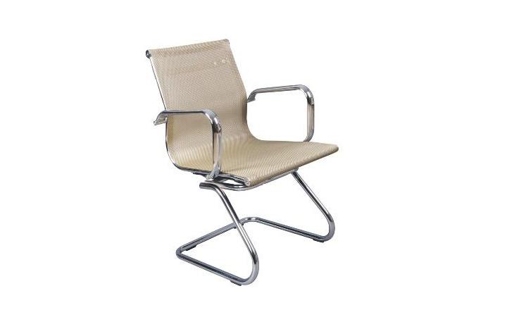 Кресло посетителя Бюрократ CH-993-Low-V/gold