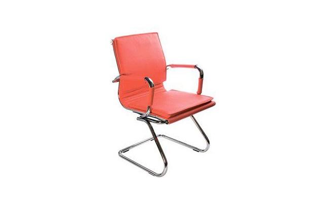 Кресло посетителя Бюрократ CH-993-Low-V/red