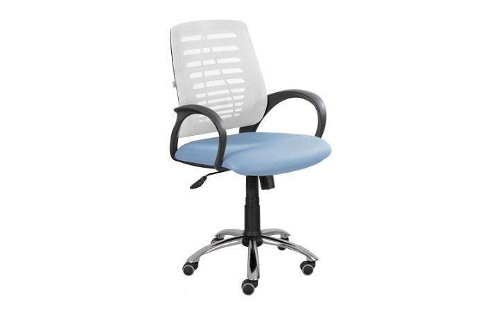 Кресло для персонала Ronald хром