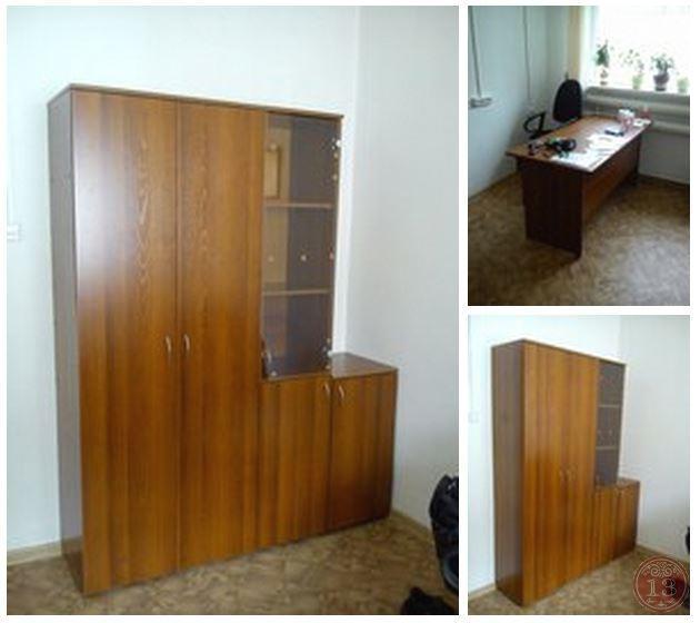 мы изготовили и собрали мебель из серии Оптима для нашего клиента ООО ТеплоЛидер в Академгородке