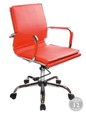 Кресло руководителя Бюрократ CH-993-Low/red