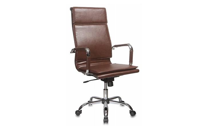 Кресло руководителя Бюрократ CH-993/brown