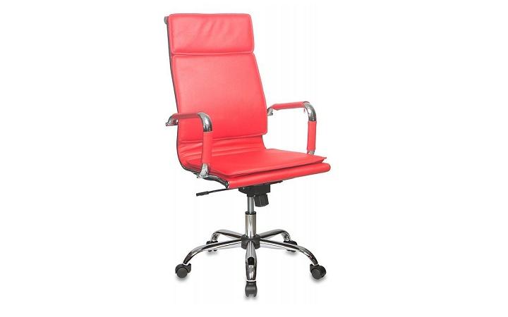 Кресло руководителя Бюрократ CH-993/red