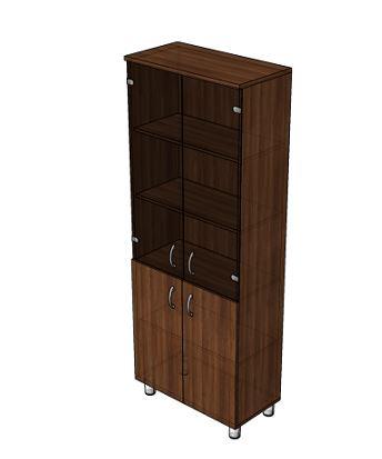 Шкаф офисный для сувениров Лидер 82.13