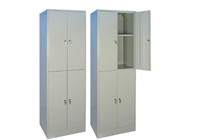 Металлический шкаф для одежды ШРМ-24