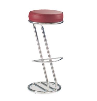 Барный стул Zeta Hoker Chrome