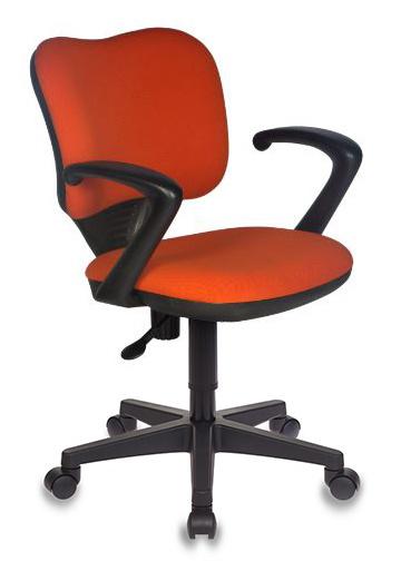 Кресло Бюрократ CH-540AXSN-LOW/26291 низкая спинка оранжевый 26-29-1
