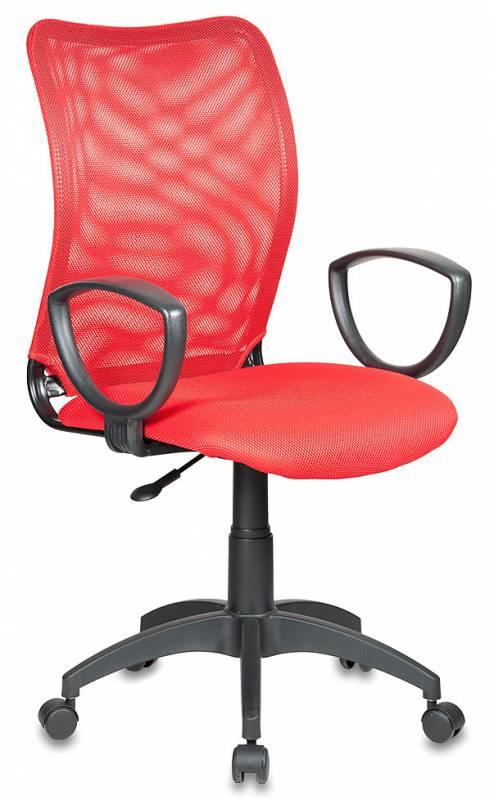 Кресло Бюрократ CH-599/R/TW-97N спинка сетка красный сиденье красный TW-97N