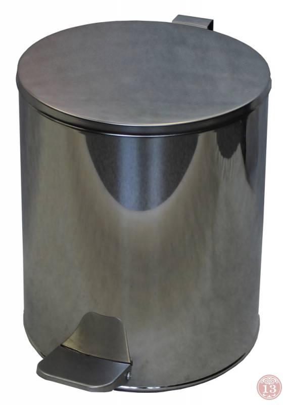 Урна для мусора Бюрократ UC-15L/CHROME