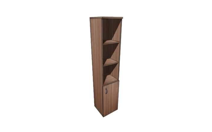 Шкаф узкий полузакрытый Континент ЛФ220