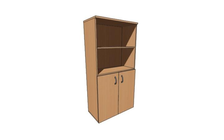 Шкаф низкий Оптима Л224