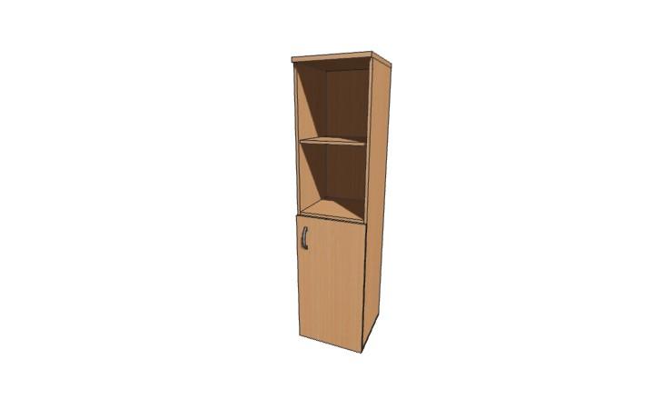 Шкаф низкий узкий полузакрытый Континент ЛФ230