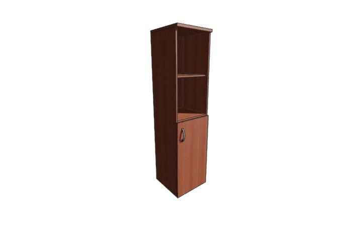 Шкаф узкий низкий Оптима Л230