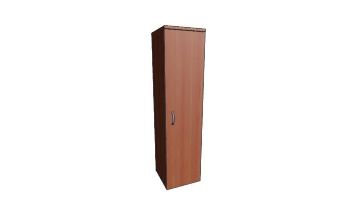 Шкаф узкий низкий закрытый Оптима Л232